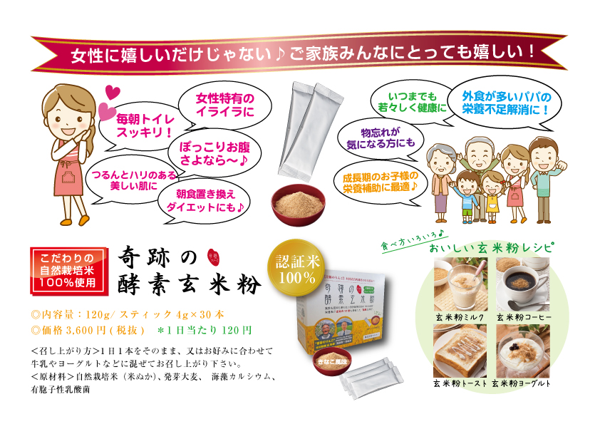 奇跡の玄米企画粉3